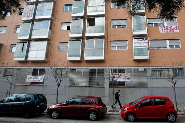 Bloque de vivienda pública municipal en Madrid.