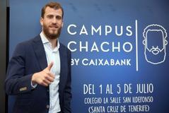 Sergio Rodríguez, durante la presentación de su campus.
