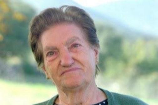 Francisca Castillo, vecina fallecida de Jánovas