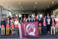 El presidente del Consell,Ximo Puig, participó ayer en el CdT de Castellón en la entrega de las banderas Qualitur 2019 de calidad turística