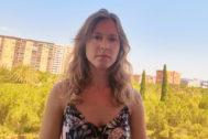 La profesora afectada por la pérdida de su examen, Yasmina Pérez.