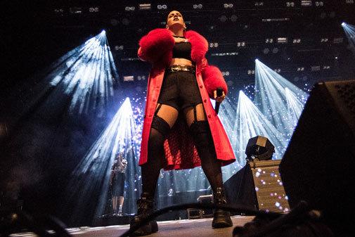 Rosalía, en una actuación, actúa este miércoles en Mad Cool 2019