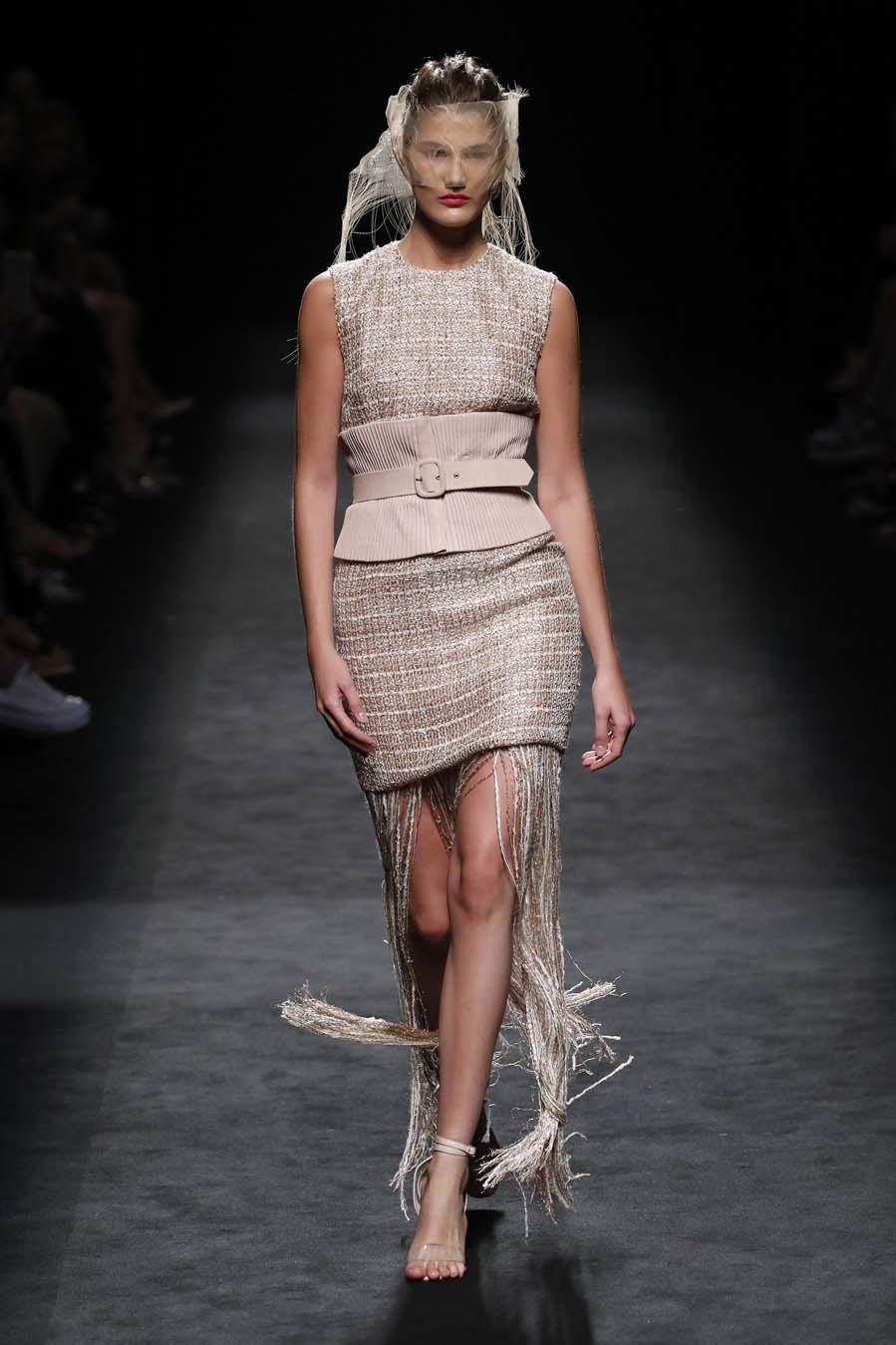 Desfile Miguel Marinero - Mercedes-Benz Fashion Week Madrid -...