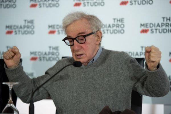 Woody Allen, durante su rueda de prensa antes del inicio del rodaje de...