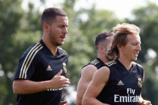 Hazard y el Real Madrid ya sudan en Montreal