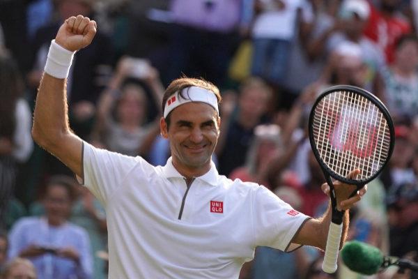 Wimbledon (United Kingdom).- Roger <HIT>Federer</HIT> of Switzerland...