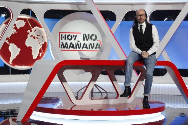Santiago Segura, presentador de 'Hoy no, mañana'.