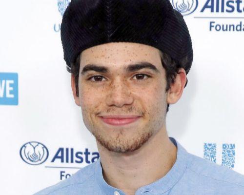 El actor estadounidense Cameron Boyce