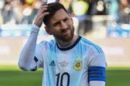 Leo Messi, en la reciente Copa América.