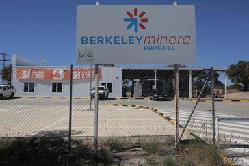 Instalaciones de Berkeley en Retortillo (Salamanca).