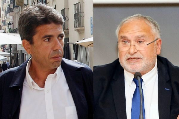 Carlos Mazón (PP) y Toni Such (PSPV).
