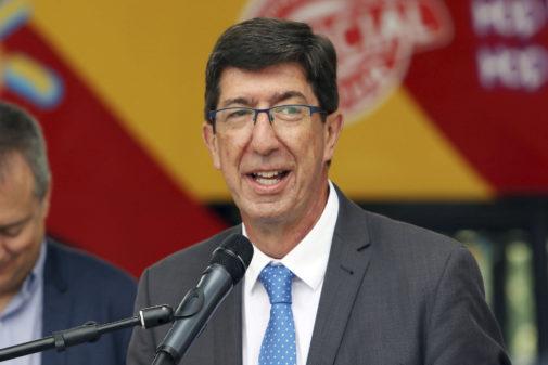 El consejero andaluz de Justicia, Juan Marín.