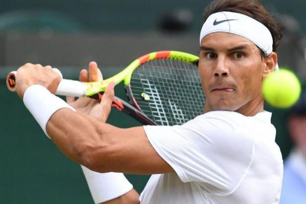 Rafa Nadal en Wimbledon 2019
