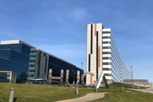 El Hospital Central de Asturias donde falleció la niña.