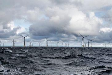 Parque eólico marino que Iberdrola ha inaugurado en Wikinger.