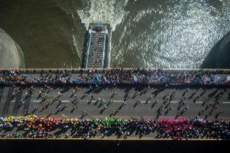 Captura del último maratón de Londres.