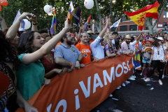 Representantes de Ciudadanos en el Orgullo Gay de Madrid