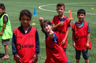 Refugiados en el fútbol: LaLiga | Za'atari Social Project