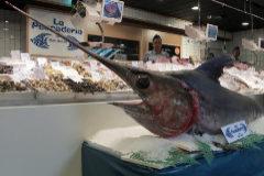 El pez espada es una de las especies que más mercurio contiene.