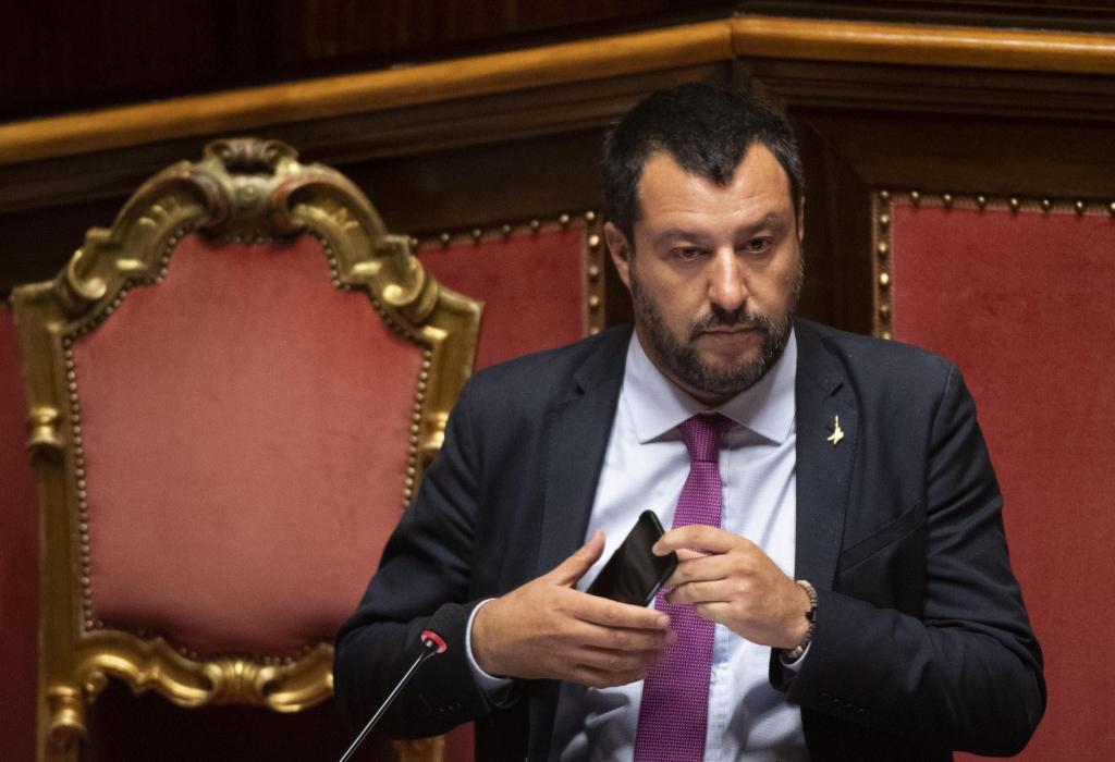 Putin y Salvini S.L.
