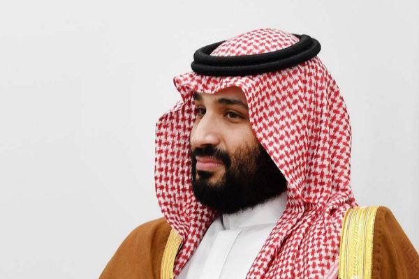 El heredero saudí, Mohamed bin Salman, durante el pasado G20 en Japón