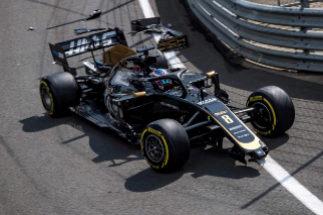 Grosjean o cómo estrellar un coche antes de salir a pista