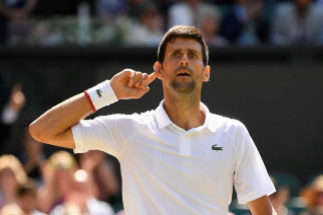 Djokovic doblega a un encomiable Bautista y buscará su quinto título