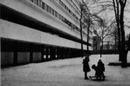El edificio Narkomfin, de Moséi Ginzburg (1930).
