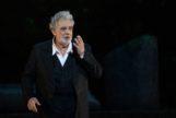 Plácido Domingo, el pasado jueves, en concierto.