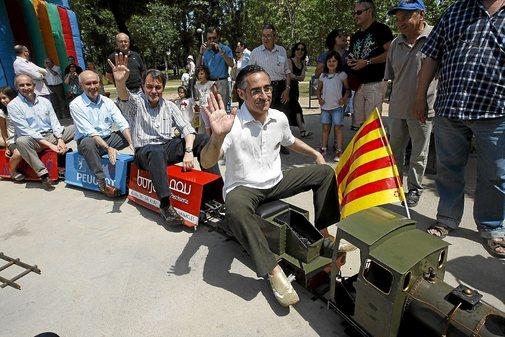 Tremosa encabeza el tren independentista con Mas, el moderado Durán i Lleida y Josu Erkoreka (PNV)