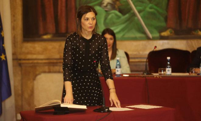 La hasta ahora diputada por Compromís en Castellón, María Dolores Parra.