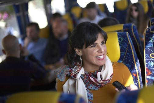 La líder de Podemos Andalucía, Teresa Rodríguez