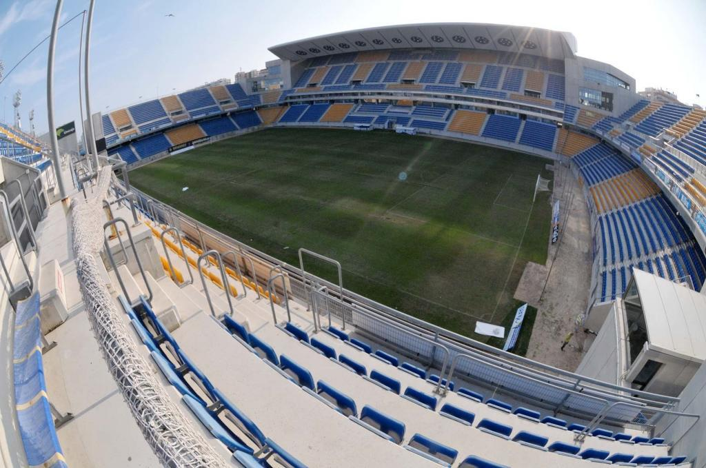 Vista general del estadio Ramón de Carranza.