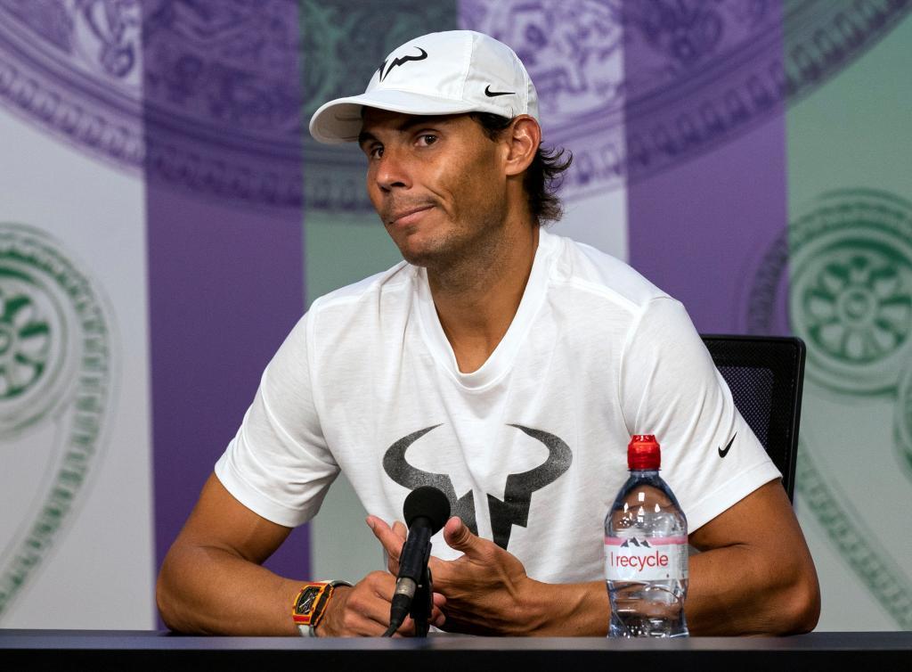 """Nadal, tras su derrota ante Federer en la semifinal: """"No pude estresarlo"""""""