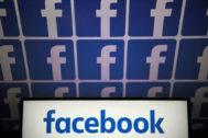 Logotipos de Facebook.