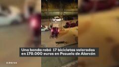 Detenidos los autores de dos alunizajes en una tienda de bicicletas de alta gama de Pozuelo