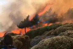 El fuego de Sotillo de Adrada alcanza la Reserva Natural del Valle de Iruelas