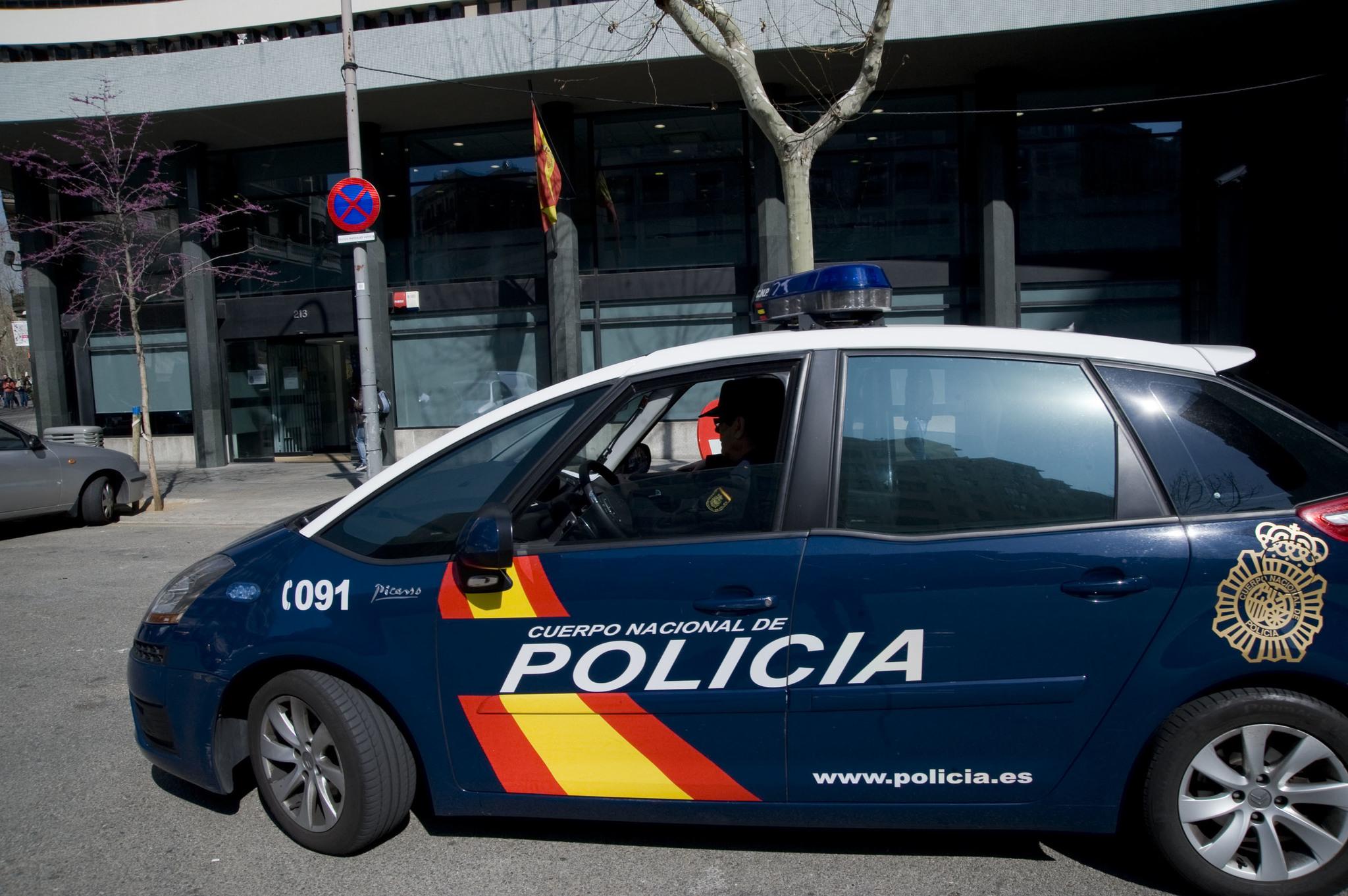 Una patrulla de la Policía Nacional.