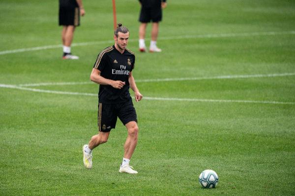 MIA28. MONTREAL (CANADÁ).- El delantero del Real Madrid Gareth <HIT>Bale</HIT> participa durante un entrenamiento en las instalaciones del Montreal Impact este jueves en Montreal (Canadá).