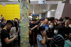 Bruce Lee y John Lennon, símbolos de la revuelta de Hong Kong