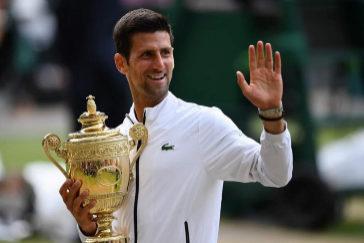 Djokovic gana a Federer en la final más larga de la historia de Wimbledon