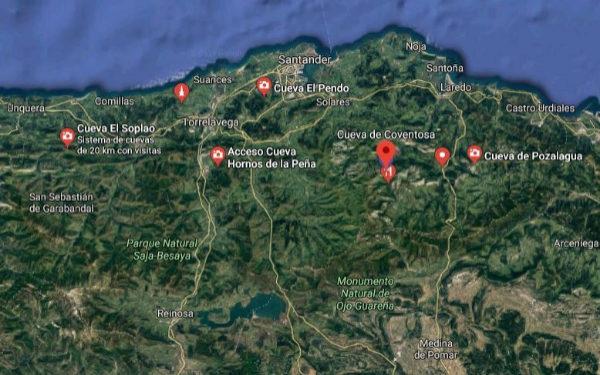 """Las tres espeleólogas rescatadas en la cueva de Coventosa """"no conocían bien el terreno y se agotaron"""""""