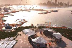 Así es el primer estadio desmontable del mundo, diseñado por un estudio español