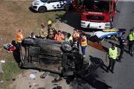 Accidente de tráfico en Salceda de Caselas,