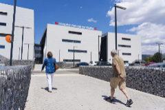 Entrada al Hospital de Villalba.