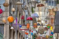 La calle Pittaki es todo un símbolo en Psirí.