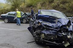 Accidente registrado en Bizkaia