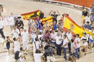 Última corrida de toros en Palma antes de la entrada en vigor de la ley que prohibía la muerte del animal.