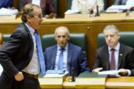 Alfonso Alonso, en el Parlamento vasco