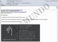 Correo electrónico remitido por el socio de Villarejo al jefe de seguridad de BBVA el 10 de febrero de 2017.